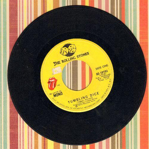 Rolling Stones - Tumbling Dice/Sweet Black Angel  - EX8/ - 45 rpm Records