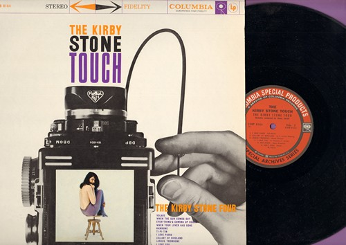 Stone, Kirby Four - The Kirby Stone Touch: Volare, Hambone, I Love Paris, Everything's Coming Up Roses (Vinyl STEREO LP record) - NM9/NM9 - LP Records
