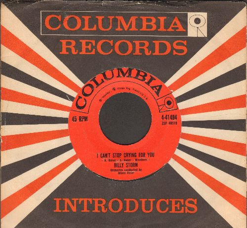 Storm, Billy - I Can't Stop Crying For You/Emotion (with vintage Columbia company sleeve) - EX8/ - 45 rpm Records