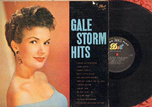 Storm, Gale - Hits: I Hear You Knockin', Lucky Lips, Why Do Fools Fall In Love, Dark Moon (vinyl MONO LP record) - VG7/VG7 - LP Records