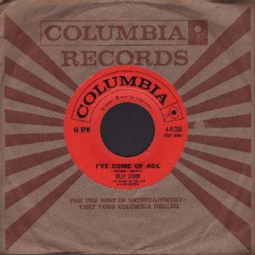 Storm, Billy - I've Come Of Age/This Is Always (with vintage Columbia company sleeve) - VG7/ - 45 rpm Records