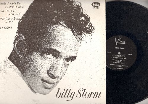 Storm, Billy - Billy Storm: Lover Come Back To Me, Walk On The Wild Side, Lonely People Do Foolish Things (vinyl LP record) - NM9/NM9 - LP Records