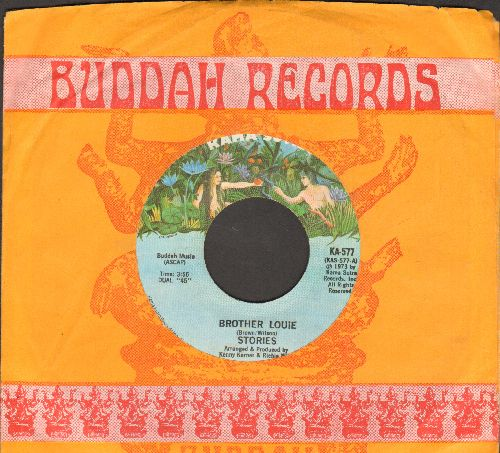 Stories - Brother Louie/What Comes After (with company sleeve) - EX8/ - 45 rpm Records