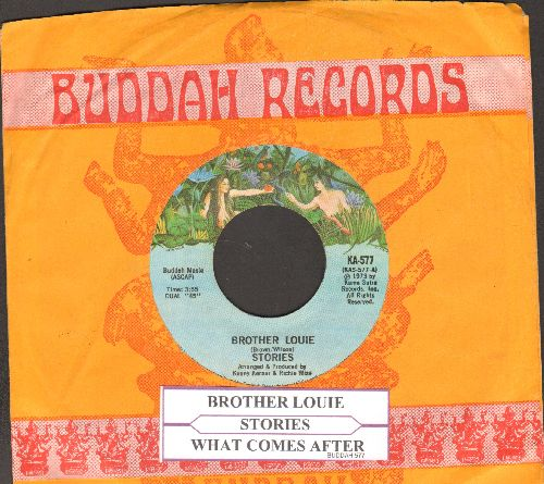 Stories - Brother Louie/What Comes After (with company sleeve and  juke box label) - NM9/ - 45 rpm Records