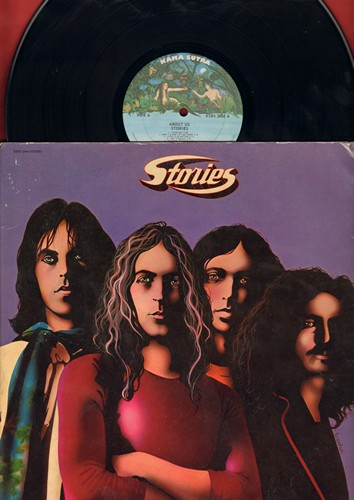 Stories - About Us: Brother Louis, Hey France, Down Time Blooze, Circles, Darling (Vinyl STEREO LP record, gate-fold cover first pressing) - NM9/EX8 - LP Records