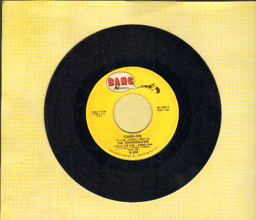 Strangeloves - Cara-Lin/(Roll On) Mississippi (bb) - EX8/ - 45 rpm Records