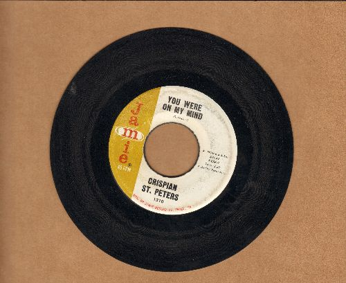 St. Peters, Crispian - You Were On My Mind/What I'm Gonna Be  - EX8/ - 45 rpm Records