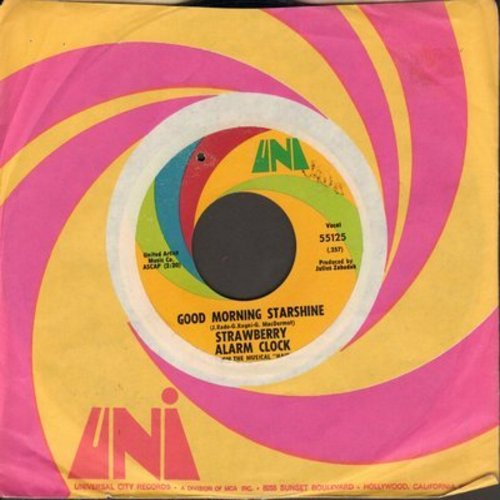 Strawberry Alarm Clock - Good Morning Starshine/Me And The Township (bb) - VG7/ - 45 rpm Records