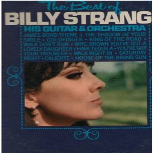 Strange, Billy - The Best Of: James Bond Theme, Goldfinger, Walk Right In, House Of The Rising Sun, Walk Don't Run (Vinyl MONO LP record, DJ advance copy) - NM9/VG7 - LP Records