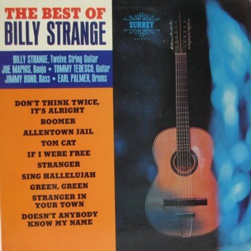 Strange, Billy - The Best Of Billy Strange: Tom Cat, Boomer, Allentown Jail, Sing Hallelujah (Vinyl MONO LP record) - NM9/NM9 - LP Records