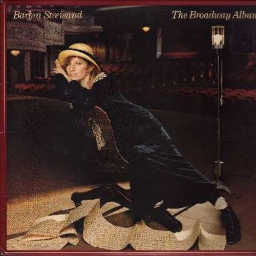 Streisand, Barbra - The Broadway Album: Send In The Clowns, Can't Help Lovin' That Man, Somewhere, If I Loved You, Something's Coming (Vinyl STEREO LP record, inside sleeve includes all song lyrics) - NM9/EX8 - LP Records