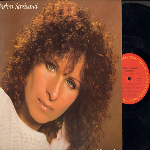 Streisand, Barbra - Memories: Memory, My Heart Belongs To Me, No More Tears (Enough Is Enough, duet with Donna Summer), The Way We Were, Evergreen (Vinyl STEREO LP record) - NM9/NM9 - LP Records