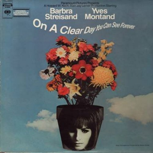 Streisand, Barbra, Yves Montand, Jack Nicholson - On A Clear Day You Can See Forever - Original Motion Picture Sound Track (Vinyl STEREO LP record, gate-fold cover) - NM9/EX8 - LP Records