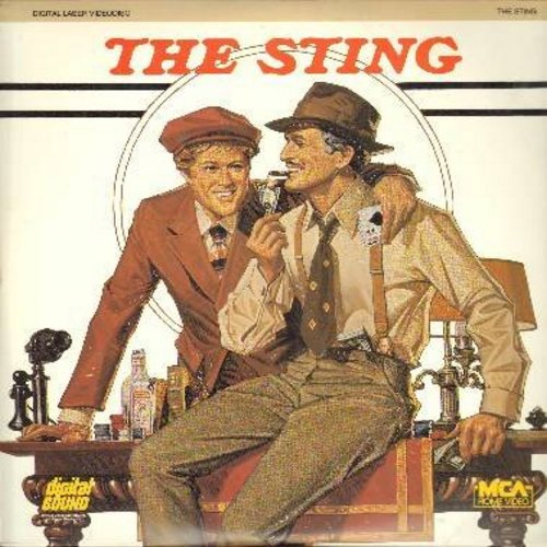 The Sting - The Sting - The 1974 Oscar Winning Gangster Film Classic starring Paul Newman and Robert Redford  (This is a set of 2 LASER DISCS, NOT ANY OTHER KIND OF MEDIA!) - NM9/NM9 - Laser Discs