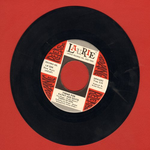 Kathy & David & Strings Of Eden - Kathy And David/Theme For Kathy And David - NM9/ - 45 rpm Records