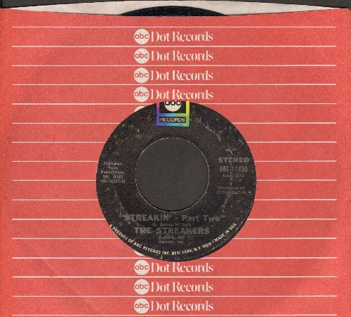 Streakers - Streakin' (Parts 1+2) (with ABC company sleeve) - VG7/ - 45 rpm Records
