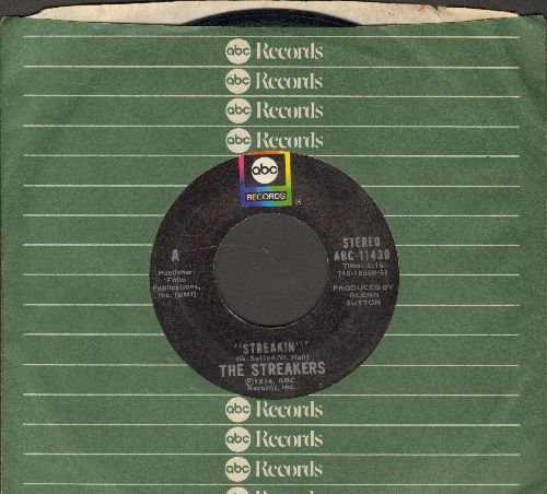 Streakers - Streakin' (Parts 1+2) (with ABC company sleeve) - NM9/ - 45 rpm Records