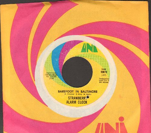 Strawberry Alarm Clock - Barefoot In Baltimore/An Angry Young Man (with Uni company sleeve) - EX8/ - 45 rpm Records