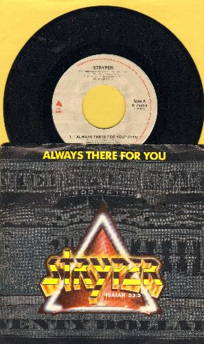 Stryper - Always There For You/In God We Trust (with picture sleeve) - NM9/EX8 - 45 rpm Records