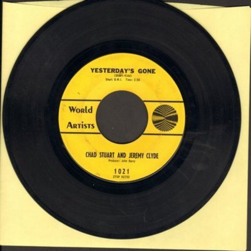 Chad & Jeremy - Yesterday's Gone/Lemon Tree - NM9/ - 45 rpm Records