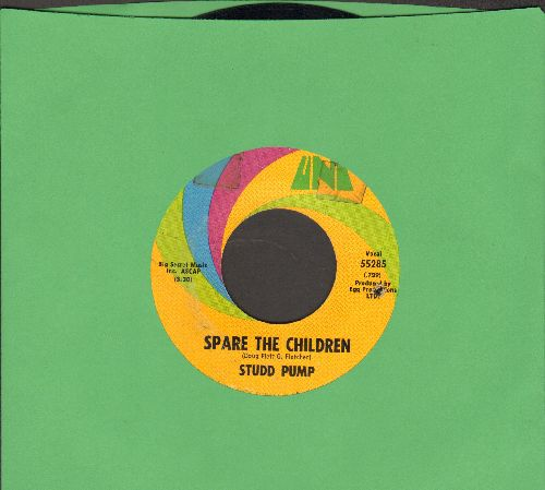 Studd Pump - Spare The Children/Floating (bb) - VG7/ - 45 rpm Records