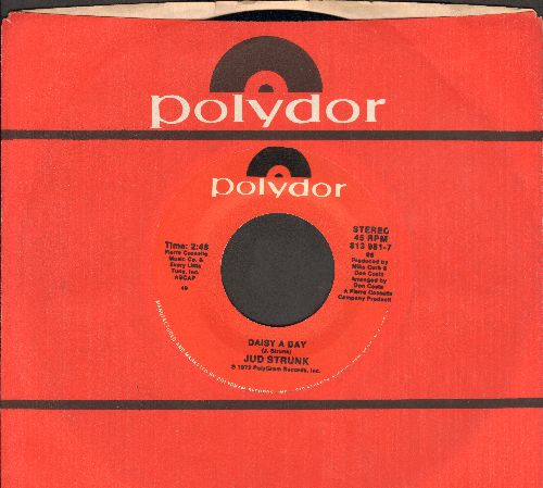 Strunk, Jud - Daisy A Day/Wildwood Weed (double-hit re-issue with Polydor company sleeve) - NM9/ - 45 rpm Records