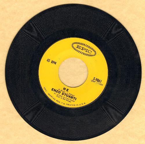 Stuarti, Enzo - He/You Don't Know Me - NM9/ - 45 rpm Records