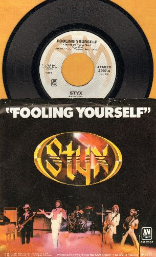 Styx - Fooling Yourself (The Angry Young Man) (with picture sleeve) - NM9/EX8 - 45 rpm Records