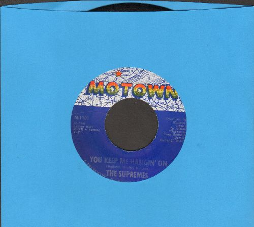 Supremes - You Keep Me Hangin' On/Remove This Doubt  - NM9/ - 45 rpm Records