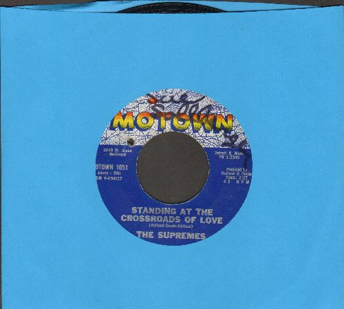 Supremes - When The Lovelight Starts Shining Through/Standing At The Crossroads Of Love (bb, wol) - VG7/ - 45 rpm Records