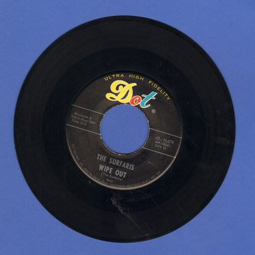 Surfaris - Wipe Out/Surfer Joe  - EX8/ - 45 rpm Records