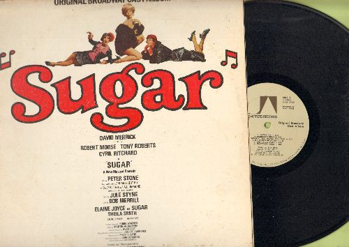 Sugar - Sugar - Original Broadway Cast Album (vinyl STEREO LP record) - NM9/VG7 - LP Records