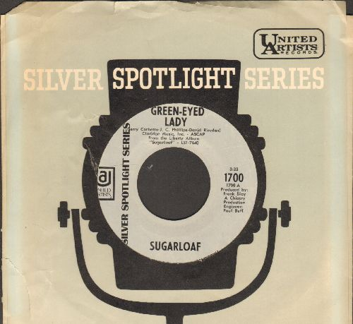 Sugarloaf - Green Eyed Lady/Tongue In Cheek (double-hit re-issue with company sleeve) - NM9/ - 45 rpm Records