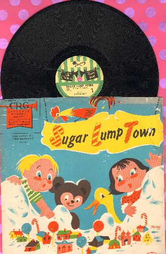 Rose, Norman - Sugar Lump Town (10 inch 78 rmp record with picture sleeve) - EX8/EX8 - 78 rpm