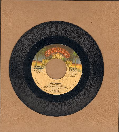 Summer, Donna - Last Dance (Favorite at Wedding Receptions and Parties!)/With Your Love  (wol) - EX8/ - 45 rpm Records
