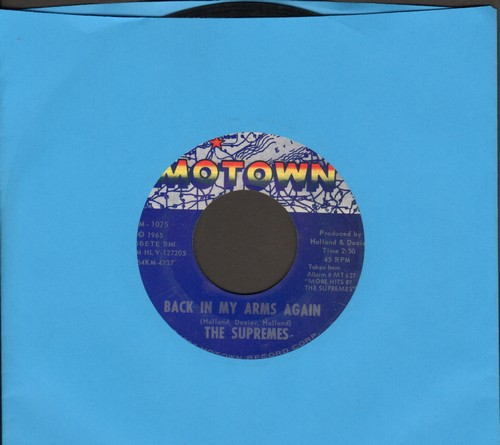Supremes - Back In My Arms Again/Whisper You Love Me Boy - EX8/ - 45 rpm Records