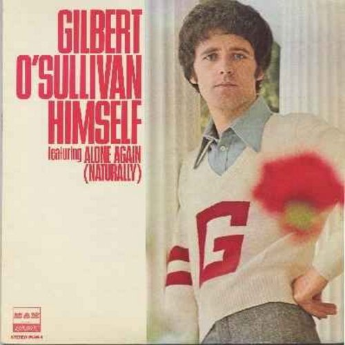 O'Sullivan, Gilbert - Alone Again (Naturally): Matrimony, Nothing Rhymed, Houdini Said, Permissive Twit, January Git (vinyl LP record) - M10/EX8 - LP Records