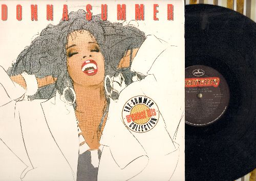 Summer, Donna - The Summer Collection - Greatest Hits: She Works Hard For The Money, Bad Girls, On The Radio, Last Dance, Enough Is Enough (No More tears) (vinyl STEREO LP record) - NM9/NM9 - LP Records