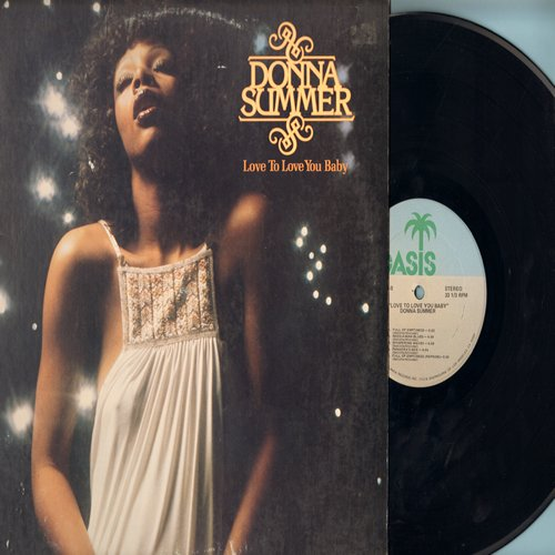 Summer, Donna - Love To Love You Baby: Pandora's Box, Full Of Emptiness, Whispering Ways (Vinyl STEREO LP record, includes 16+ minutes Unedited Disco Version of Title Song!) - NM9/VG7 - LP Records