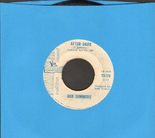 Summers, Bob - After Dark/Mule Train (DJ advance pressing) - EX8/ - 45 rpm Records