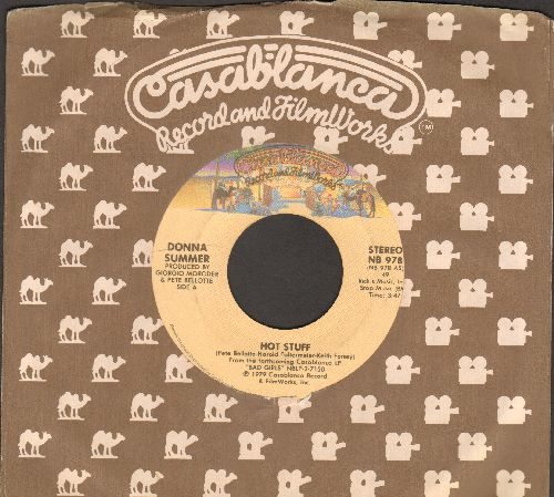Summer, Donna - Hot Stuff/Journey To The Centre Of Your Heart (DISCO FAVORITE!)(with Casablanca company sleeve) - EX8/ - 45 rpm Records