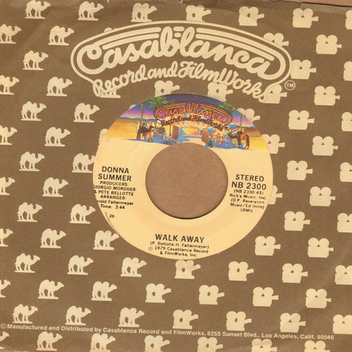 Summer, Donna - Walk Away/Could It Be Magic - NM9/ - 45 rpm Records