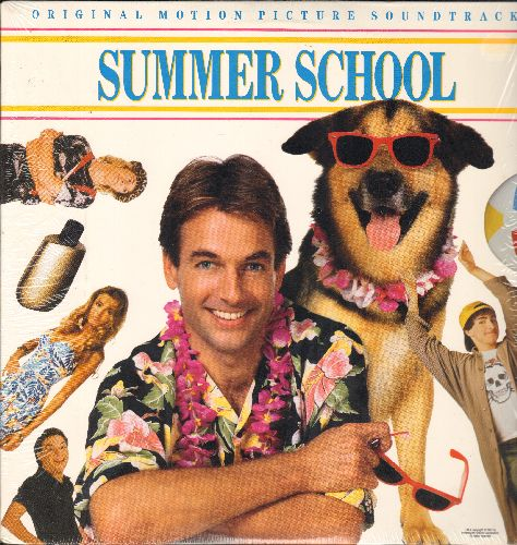Summer School - Summer School - Original Motion Picture Soundtrack (vinyl LP record, shrink wrap) - NM9/NM9 - LP Records