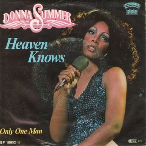 Summer, Donna - Heaven Knows/Only One Man (German Pressing with picture sleeve) - NM9/VG7 - 45 rpm Records