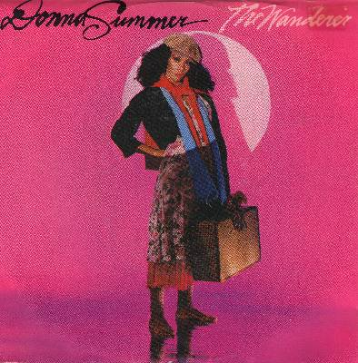 Summer, Donna - The Wanderer/Stop Me (with picture sleeve) - NM9/VG7 - 45 rpm Records