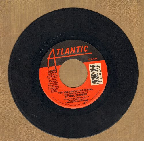 Summer, Donna - This Time I Know It's For Real/If It Makes You Feel Good  - VG7/ - 45 rpm Records
