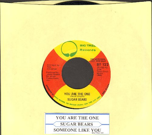 Sugar Bears - You Are The One/Someone Like You (DJ advance pressing with juke box label) - NM9/ - 45 rpm Records