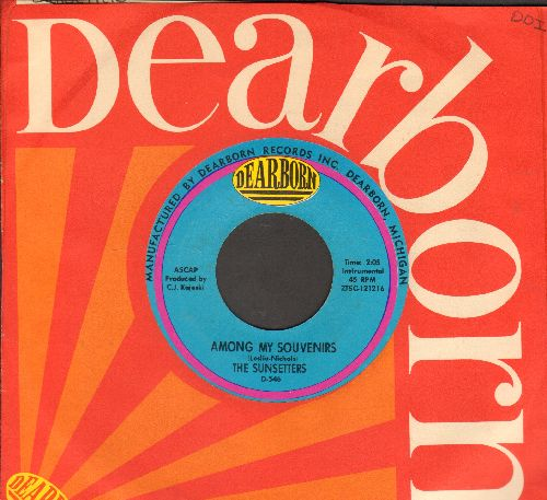 Sunsetters - Among My Souvenirs/Isle Of Capri (with company sleeve) - EX8/ - 45 rpm Records