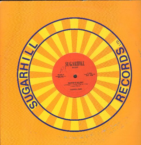 Sugarhill Gang - Rapper's Delight (15:00 Minutes Extended Disco Version + 6:30 Minutes Shorter Disco Version) (12 inch vinyl Maxi Single with Sugarhill company cover) - EX8/ - Maxi Singles
