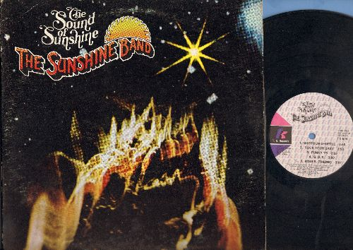 K.C. & The Sunshine Band - Sound Of Sunshine: Rock Your Baby, Funky '75,  S.O.S., Miss B., Hey J, Just A Groove, Sunshine City, I Love You (Vinyl LP record) - NM9/EX8 - LP Records